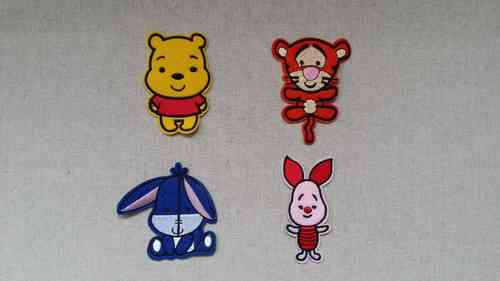 Patch stickers - Winnie the Pooh