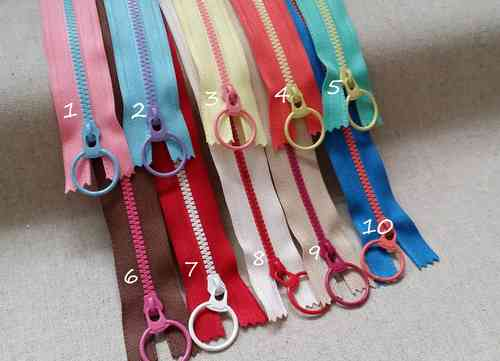 Colorful zipper 20 cm