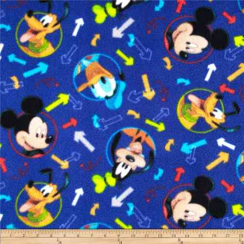 Disney Fleece Mickey (150cm wide)