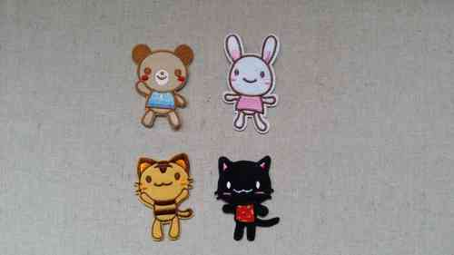 Patch stickers - cute animals