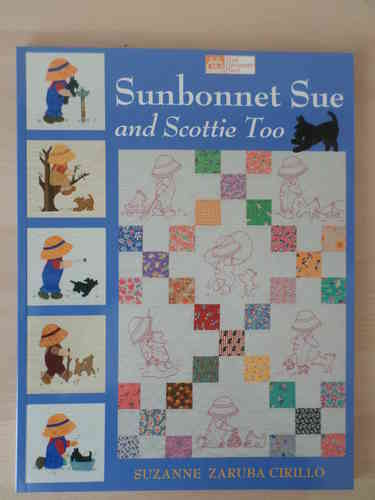 Book - Sunbonnet Sue and Scottie Too (English)