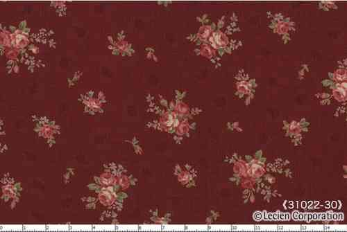Floral Collection Antique Rose , SCARLET