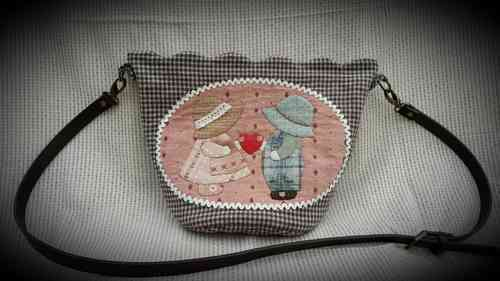 Download pattern - Sunbonnet shoulder bag