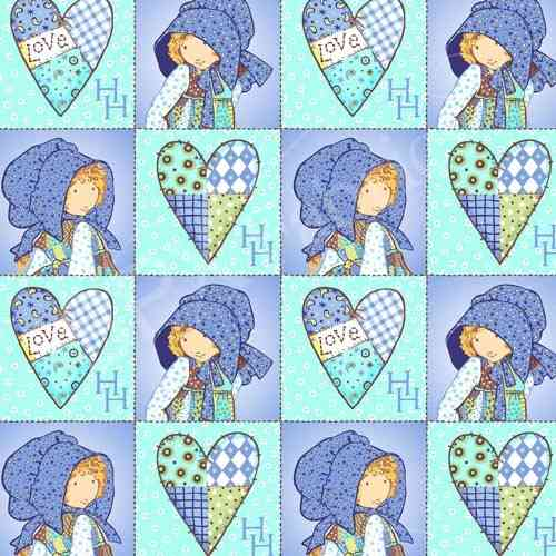 Holly Hobbie Blue Girl