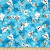 Disney Flannel Frozen Olaf- Blue