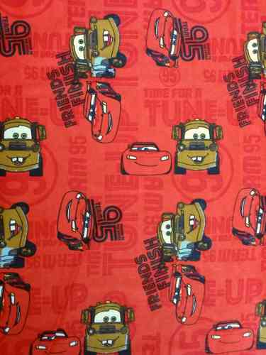 Disney Flannel Lighting McQueen - Red
